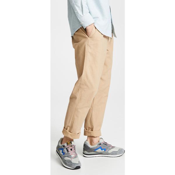 【エントリーでポイント10倍】(取寄)オベイ トラベラー スラブ ツイル パンツ Obey Traveler Slub Twill Pants Khaki