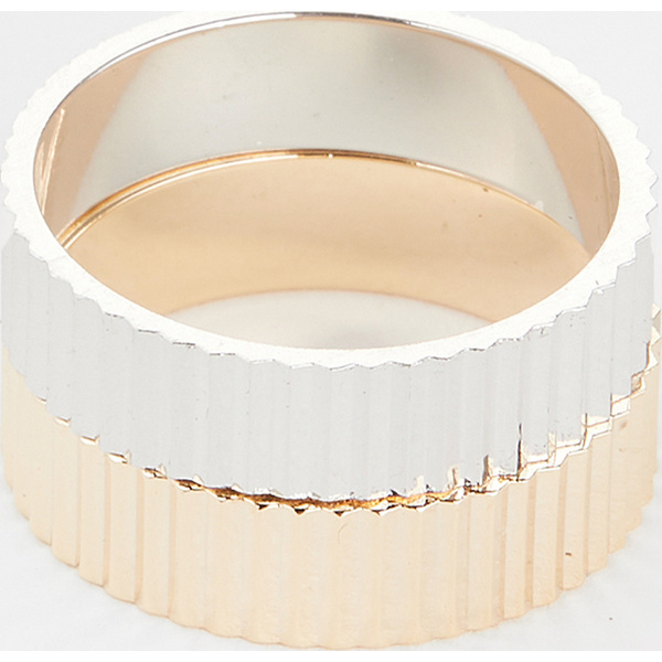 【マラソン ポイント10倍】(取寄)シャシ ボス リング セット Shashi Boss Ring Set Gold Silver