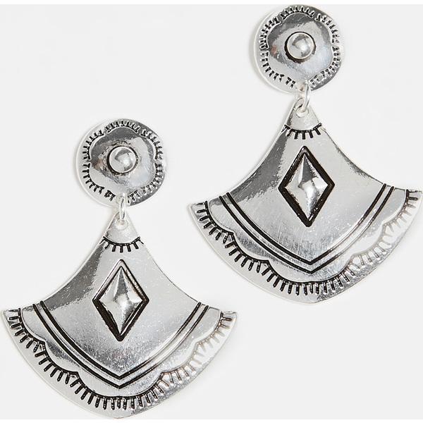 【マラソン ポイント10倍】(取寄)シャシ サウスウエスト ピアス Shashi Southwest Earrings Silver
