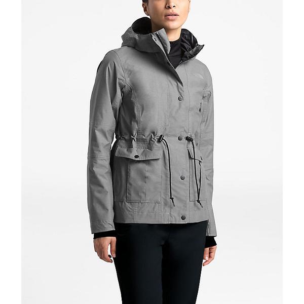 The North Face ノースフェイス レインウェア レインジャケット アウター ハイキング 登山 現品 マウンテン アウトドア 雨具 大きいサイズ Medium Zoomie ついに再販開始 取寄 Grey TNF Heather ビッグサイズ レディース Jacket Women's ジャケット ズーミー