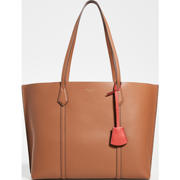 Tote Triple-Compartment Perry コンパートメント Burch トート Tory トリプル レディース Women's ペリー (取寄)トリーバーチ LightUmber