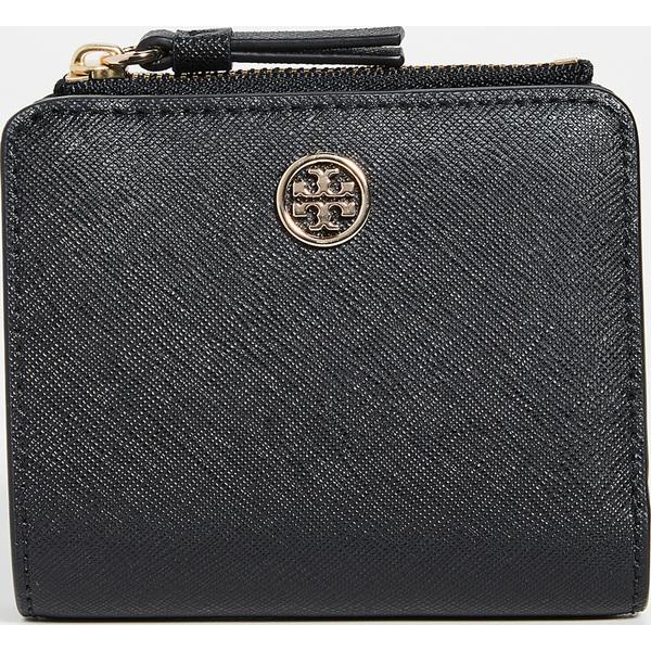 ミニ Tory Robinson ウォレット Burch Women's Mini ロビンソン Wallet (取寄)トリーバーチ Black レディース
