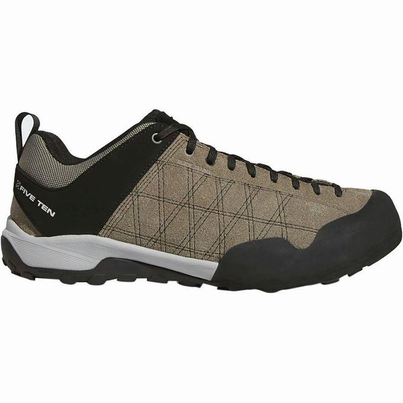 【マラソン ポイント10倍】(取寄)ファイブテン メンズ ガイド テニー アプローチ シューズ Five Ten Men's Guide Tennie Approach Shoe Simple Brown/Black/Grey Four