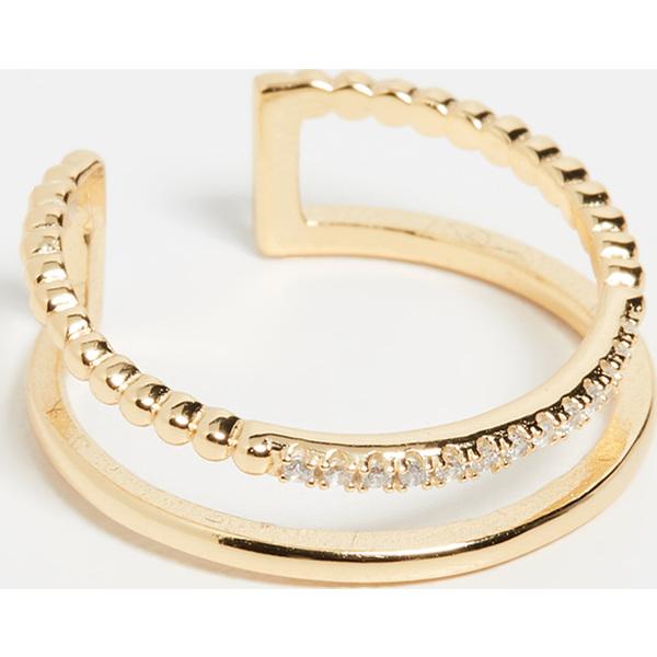 (取寄)シャシ ジェイド リング Shashi Jade Ring Gold