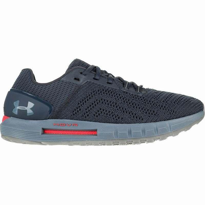 【マラソン ポイント10倍】(取寄)アンダーアーマー メンズ ホバー ソニック 2 ランニング シューズ ランニング シューズ Under Armour Men's HOVR Sonic 2 Running Shoe Running Shoes Wire/Ash Gray/Ash Gray