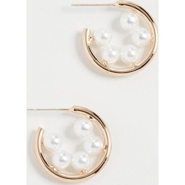 (取寄)シャシ フォー キープス ピアス Shashi For Keeps Earrings Gold