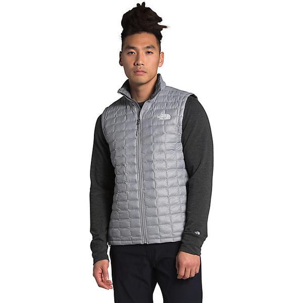 (取寄)ノースフェイス メンズ サーモボール エコ ベスト The North Face Men's ThermoBall Eco Vest Mid Grey Matte 送料無料