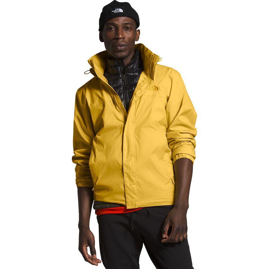 【マラソン ポイント10倍】(取寄)ノースフェイス メンズ リゾルブ 2 フーデッド ジャケット The North Face Men's Resolve 2 Hooded Jacket Bamboo Yellow