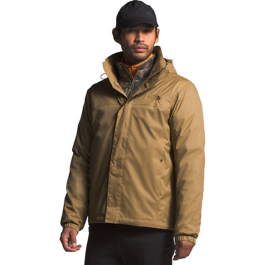 【マラソン ポイント10倍】(取寄)ノースフェイス メンズ リゾルブ 2 フーデッド ジャケット The North Face Men's Resolve 2 Hooded Jacket British Khaki