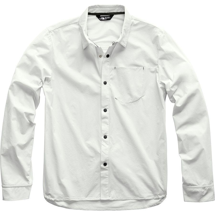(取寄)ノースフェイス メンズ ノース ドーム ロングスリーブ シャツ The North Face Men's North Dome Long-Sleeve Shirt Tin Grey