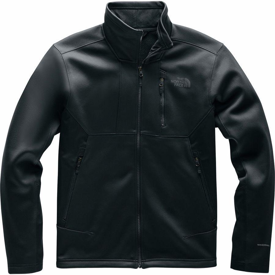 【マラソン ポイント10倍】(取寄)ノースフェイス メンズ アペックス リソル ソフトシェル ジャケット The North Face Men's Apex Risor Softshell Jacket Tnf Black
