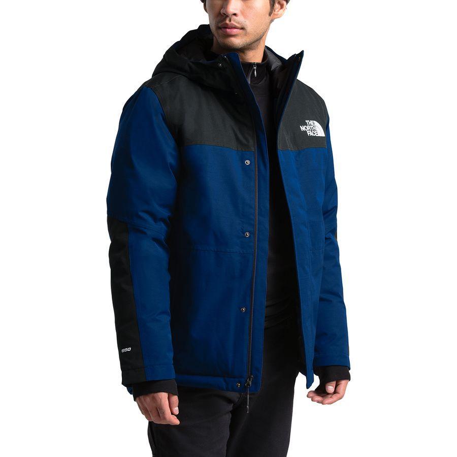 (取寄)ノースフェイス メンズ バーラム インサレーテッド ジャケット The North Face Men's Balham Insulated Jacket Flag Blue/Tnf Black