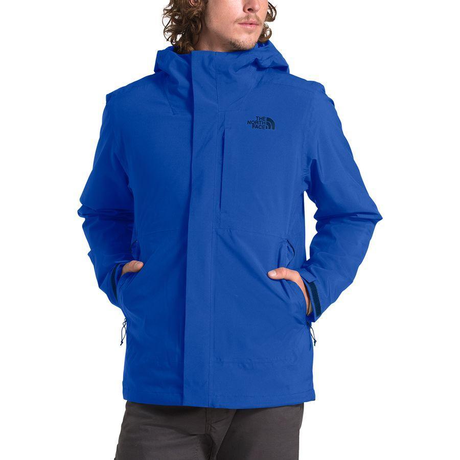 【マラソン ポイント10倍】(取寄)ノースフェイス メンズ カルト トリクラメイト フーデッド ジャケット The North Face Men's Carto Triclimate Hooded Jacket Flag Blue/Tnf Blue