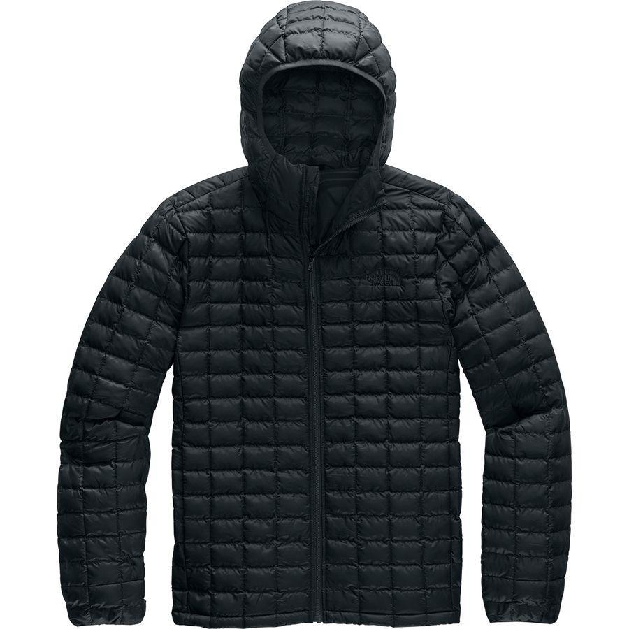 【マラソン ポイント10倍】(取寄)ノースフェイス メンズ サーモボール エコ フーデッド ジャケット The North Face Men's Thermoball Eco Hooded Jacket Tnf Black Matte