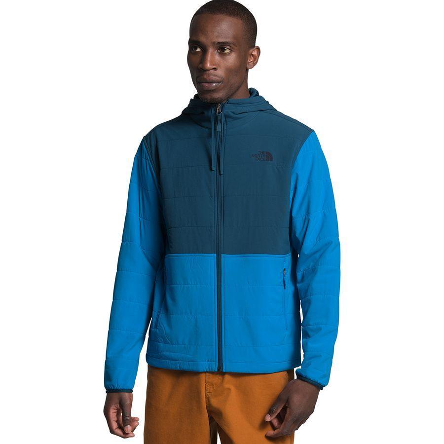 【マラソン ポイント10倍】(取寄)ノースフェイス メンズ マウンテン トレーナー 3.0フルジップ パーカー The North Face Men's Mountain 3.0 Full-Zip Hoodie Sweatshirt Clear Lake Blue/Blue Wing Teal