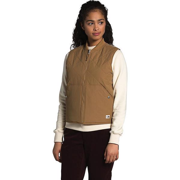 【マラソン ポイント10倍】(取寄)ノースフェイス レディース クチーヨ ベスト The North Face Women's Cuchillo Vest Utility Brown