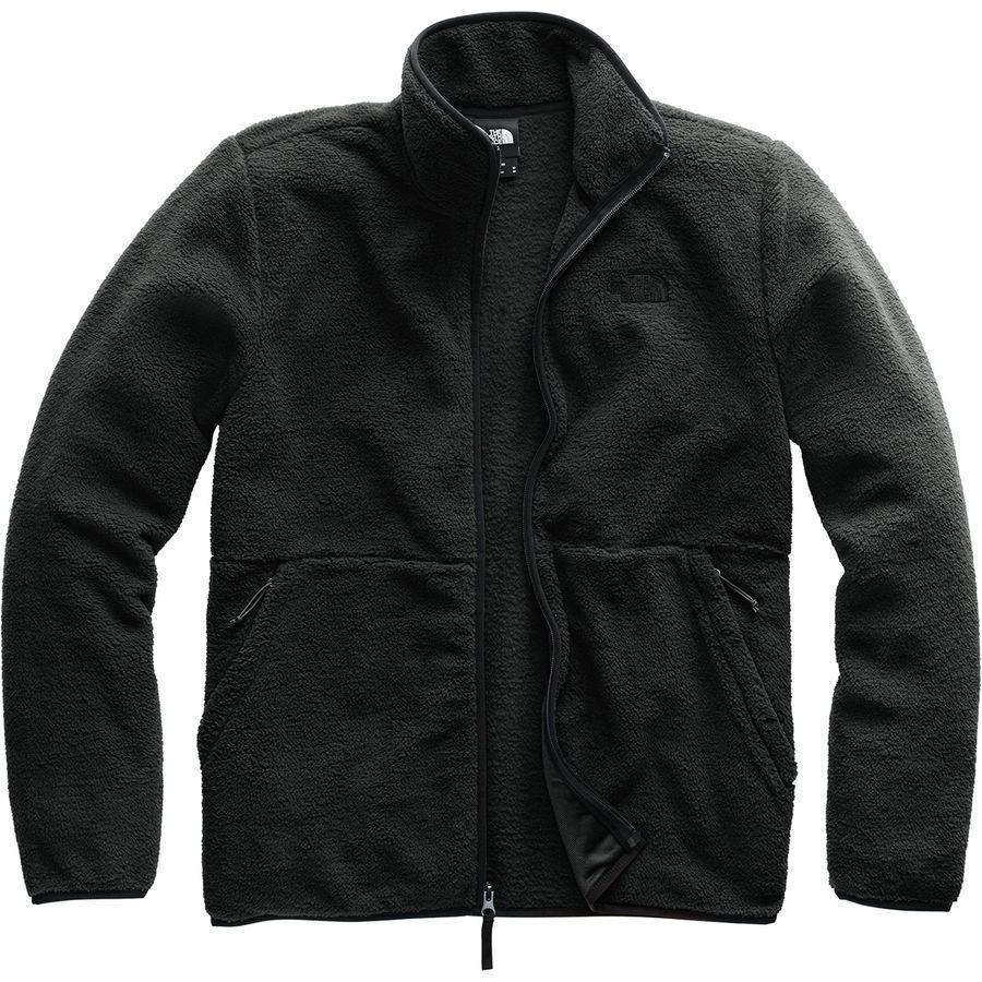 (取寄)ノースフェイス メンズ ダンレイヴン シェルパ フルジップ ジャケット The North Face Men's Dunraven Sherpa Full-Zip Jacket Tnf Black