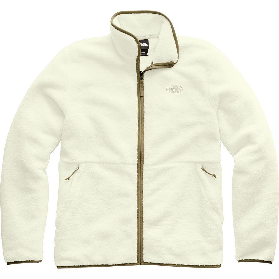 (取寄)ノースフェイス メンズ ダンレイヴン シェルパ フルジップ ジャケット The North Face Men's Dunraven Sherpa Full-Zip Jacket Vintage White/British Khaki
