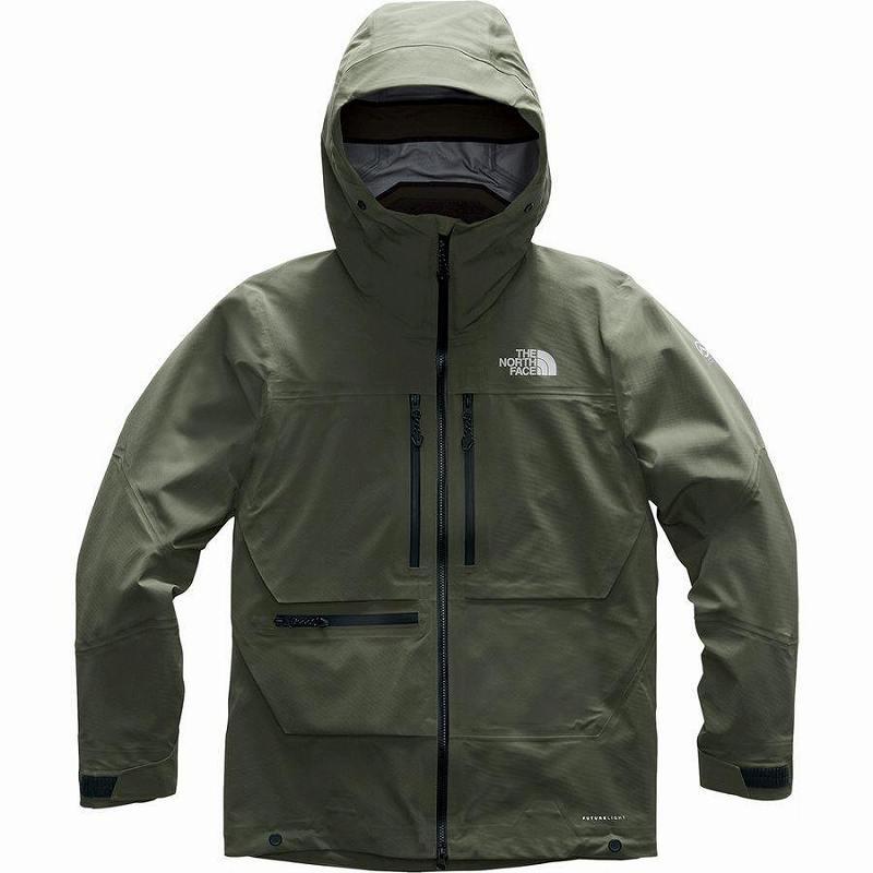 (取寄)ノースフェイス メンズ サミット L5フューチャーライト ジャケット The North Face Men's Summit L5 FUTURELIGHT Jacket New Taupe Green/New Taupe Green