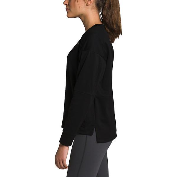 The North Face ノースフェイス スウェット トレーナー トップス ファッション ブランド カジュアル ストリート アウトドア ウィメンズ TNF プルオーバー Kickaround レディース Black ビックサイズ 出色 Women's 流行 キックアラウンド Pullover 大きいサイズ 取寄