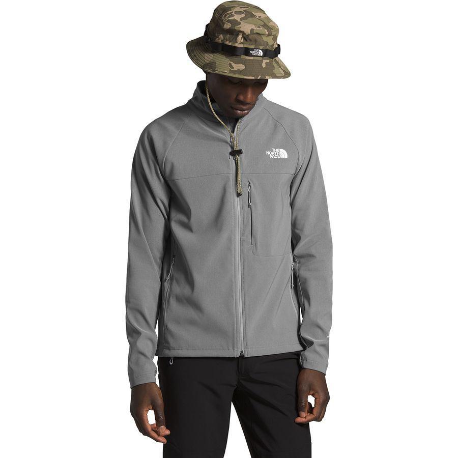 【マラソン ポイント10倍】(取寄)ノースフェイス メンズ アペックス ニムブル ジャケット The North Face Men's Apex Nimble Jacket Tnf Medium Grey Heather