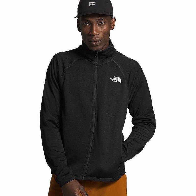 【マラソン ポイント10倍】(取寄)ノースフェイス メンズ エコー ロック フルジップ ジャケット The North Face Men's Echo Rock Full-Zip Jacket Tnf Black