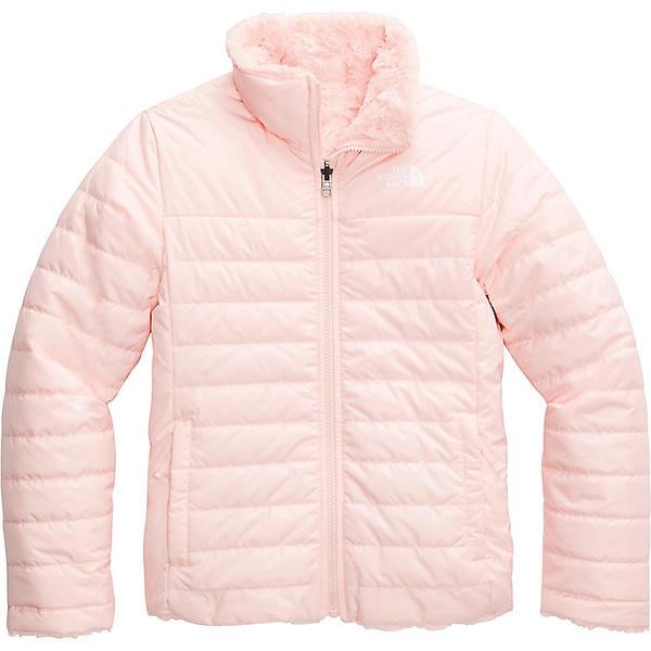 (取寄)ノースフェイス ガールズ リバーシブル モスブッド スワール ジャケット The North Face Girls' Reversible Mossbud Swirl Jacket Pink Salt