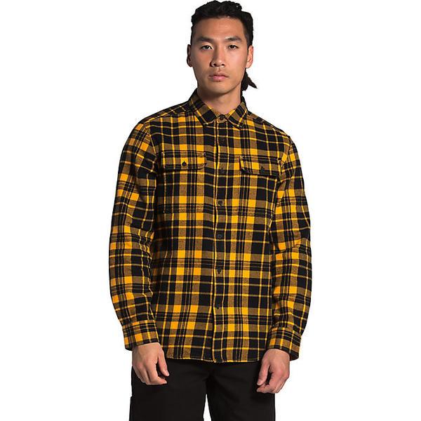 (取寄)ノースフェイス メンズ アローヨ フランネル シャツ The North Face Men's Arroyo Flannel Shirt Summit Gold Heritage Medium Two Color Plaid