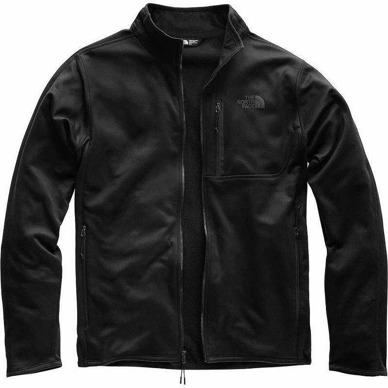 (取寄)ノースフェイス メンズ キャニオンランズ フリース ジャケット The North Face Men's Canyonlands Fleece Jacket Tnf Black