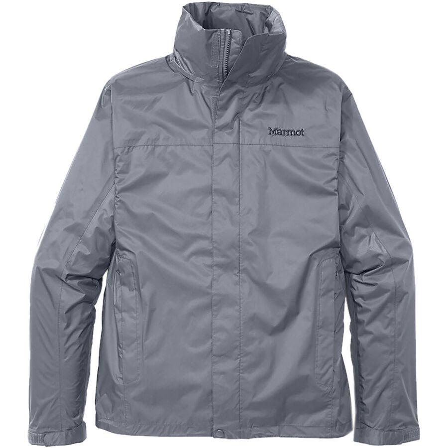 (取寄)マーモット メンズ PreCip エコ ジャケット Marmot Men's PreCip Eco Jacket Steel Onyx