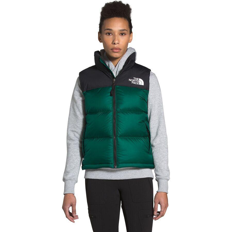 ハイキング 登山 開店祝い マウンテン 価格 アウトドア ウェア アウター 山ガール ファッション ブランド 大きいサイズ ビッグサイズ 取寄 ノースフェイス ダウンベスト Evergreen 1996レトロ レディース Face Retro Nuptse ベスト 1996 Women ヌプシ Vest The North