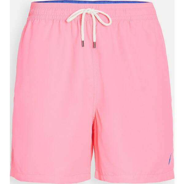 (取寄)ポロ ラルフローレン ソリッド トラベラー スイム ショーツ Polo Ralph Lauren Solid Traveler Swim Shorts Pink