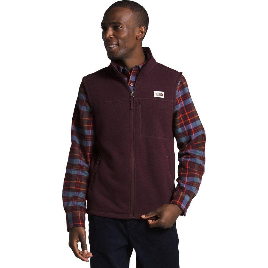 (取寄)ノースフェイス メンズ ゴードン リヨン フリース ベスト The North Face Men's Gordon Lyons Fleece Vest Root Brown Heather