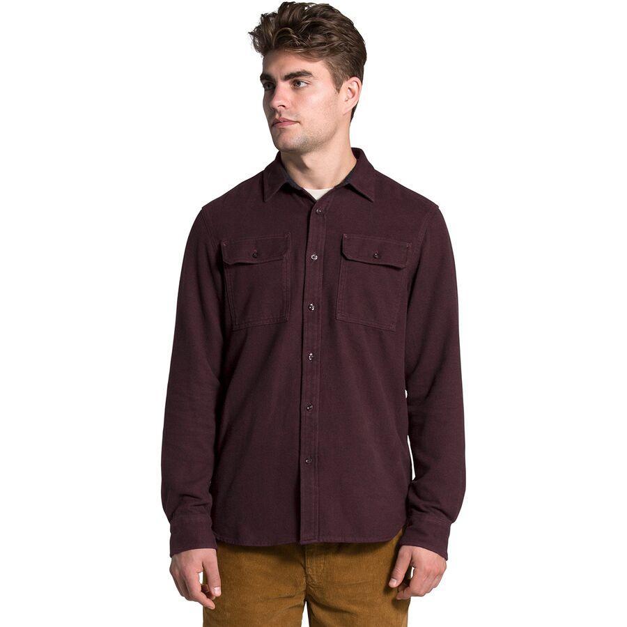(取寄)ノースフェイス メンズ アロヨ ロングスリーブ フランネル シャツ The North Face Men's Arroyo Long-Sleeve Flannel Shirt Root Brown