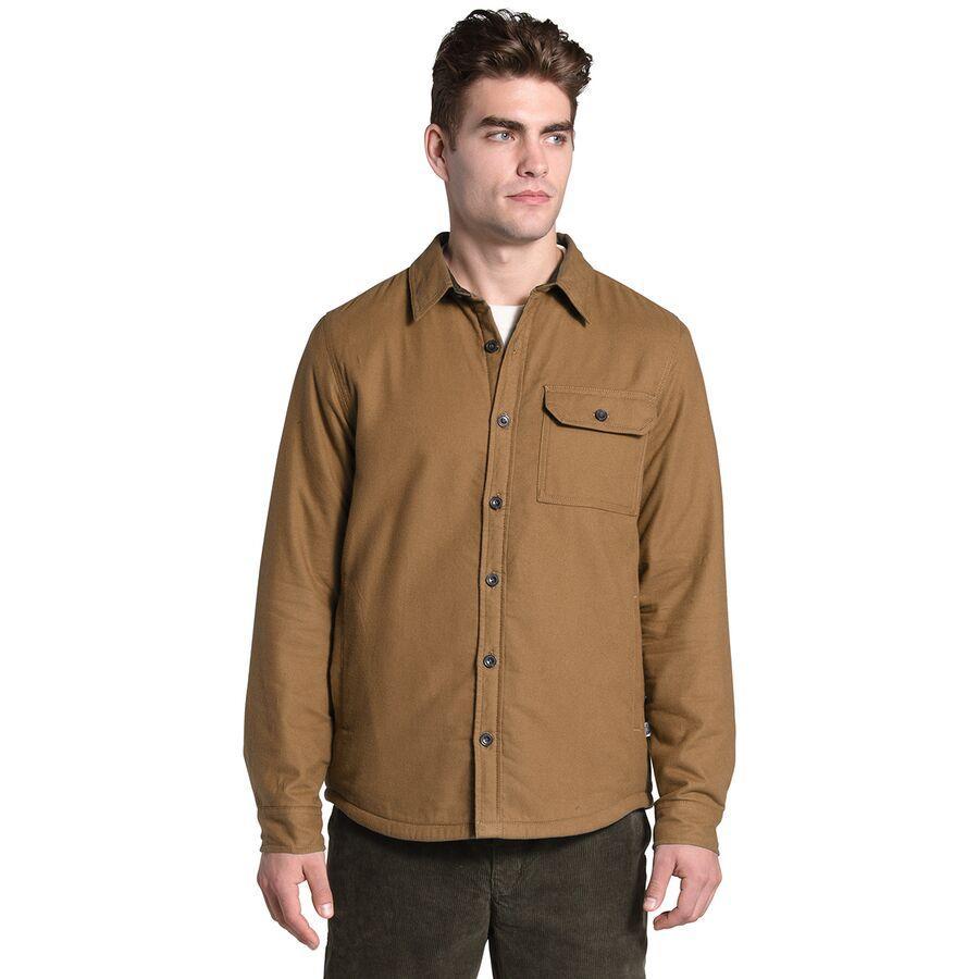(取寄)ノースフェイス メンズ Campshire シャツ The North Face Men's Campshire Shirt Utility Brown