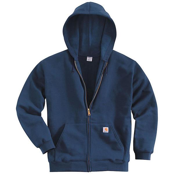 (取寄)カーハート メンズ ミッドウエイト フーデット ジップ フロント スウェットシャツ Carhartt Men's Midweight Hooded Zip Front Sweatshirt New Navy