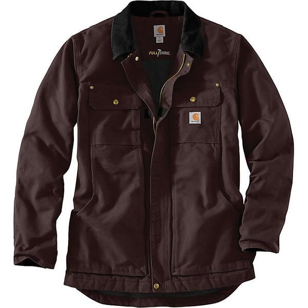 (取寄)カーハート メンズ フル スイング トラディショナル コート Carhartt Men's Full Swing Traditional Coat Dark Brown
