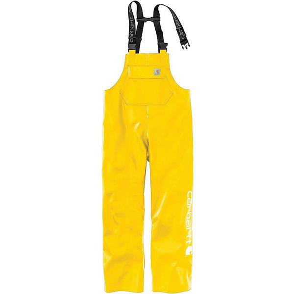 (取寄)カーハート メンズ ミッドウエイト ウォータープルーフ レイン ストーム ビブ オーバーオール Carhartt Men's Midweight Waterproof Rain Storm Bib Overall Yellow