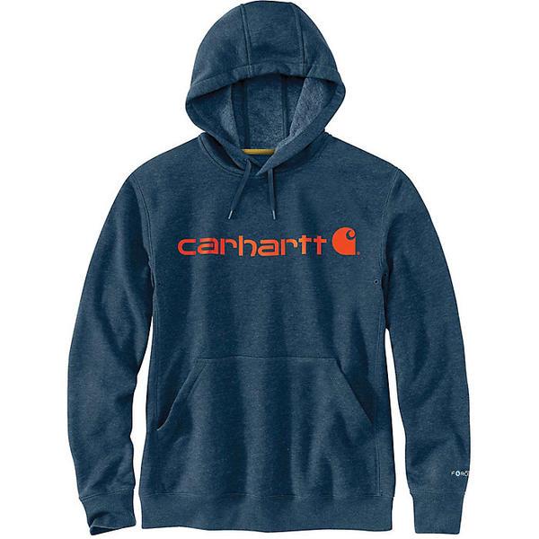 (取寄)カーハート メンズ フォース デルモント シグニチャー グラフィック フーデット スウェットシャツ Carhartt Men's Force Delmont Signature Graphic Hooded Sweatshirt Light Huron Heather