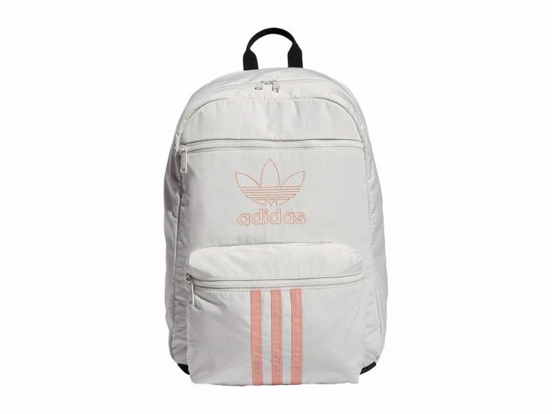 (取寄)アディダス オリジナルス ユニセックス オリジナル ナショナル 3 バックパック adidas originals Unisex Originals National 3 Backpack Orbit Grey/Trace Pink
