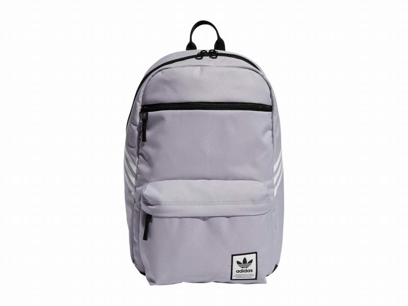 (取寄)アディダス オリジナルス ユニセックス オリジナル ナショナル SST リサイクル バックパック adidas originals Unisex Originals National SST Recycled Backpack Glory Grey/White