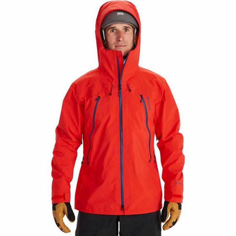 (取寄)マーモット メンズ アルピニスト ジャケット Marmot Men's Alpinist Jacket Victory Red