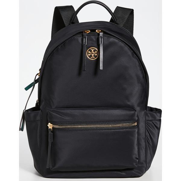 Tory Burch レディース バックパック (取寄)トリーバーチ Women's パイパー Backpack ジップ Zip Black Piper