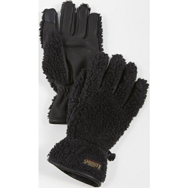 (取寄)ポロ シェルパ Sherpa Outdoor タッチ Touch Gloves Lauren Ralph ラルフローレン Black グローブ アウトドア Polo
