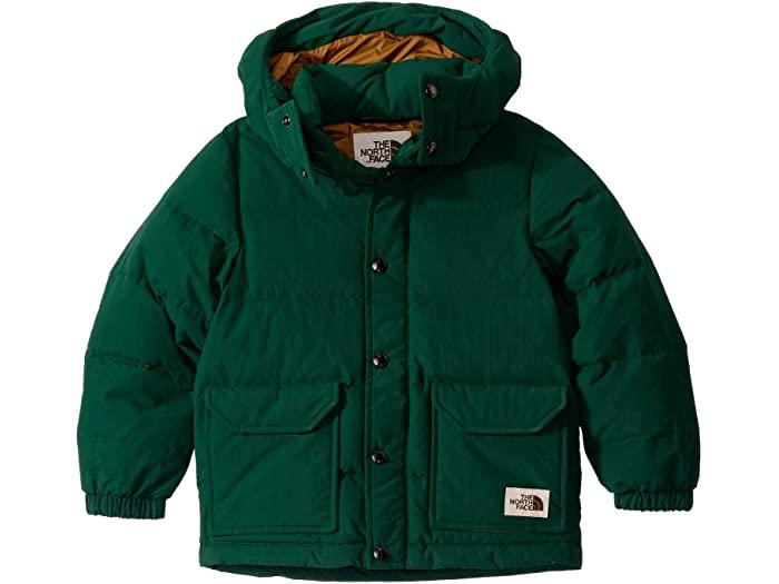 (取寄)ノースフェイス キッズ シェラ ダウン パーカー (リトル キッズ/ビッグ キッズ) The North Face Kid's Sierra Down Parka (Little Kids/Big Kids) Night Green