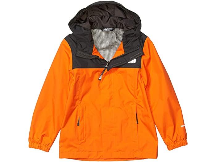 (取寄)ノースフェイス キッズ リゾルブ レイン ジャケット (リトル キッズ/ビッグ キッズ) The North Face Kid's Resolve Rain Jacket (Little Kids/Big Kids) Persian Orange