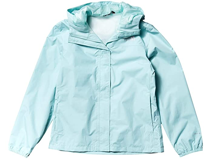 (取寄)ノースフェイス キッズ リゾルブ レイン ジャケット (リトル キッズ/ビッグ キッズ) The North Face Kid's Resolve Rain Jacket (Little Kids/Big Kids) Coastal Green