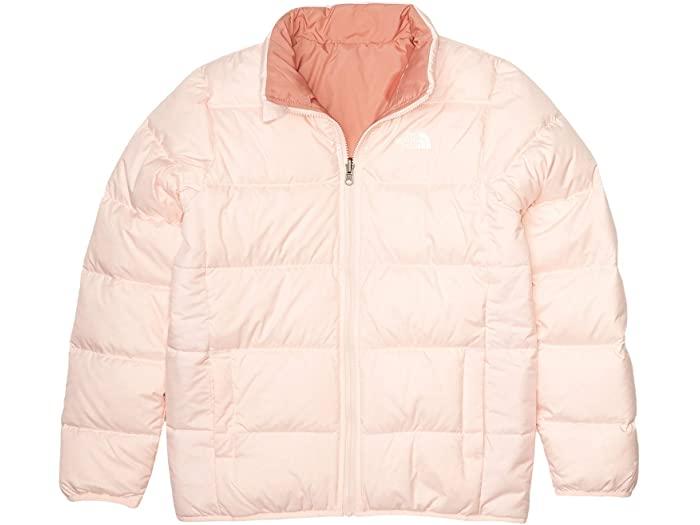 (取寄)ノースフェイス キッズ リバーシブル アンデス ジャケット (リトル キッズ/ビッグ キッズ) The North Face Kid's Reversible Andes Jacket (Little Kids/Big Kids) Pink Salt