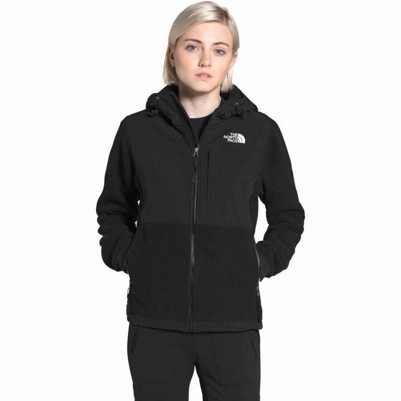 (取寄)ノースフェイス レディース デナリ 2 フーデッド フリース ジャケット The North Face Women Denali 2 Hooded Fleece Jacket TNF Black