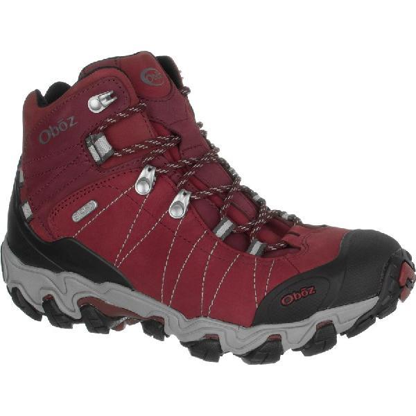 (取寄)オボズ レディース ブリッガー ミッド ビ-ドライ ハイキング ブーツ Oboz Women Bridger Mid BDry Hiking Boot Rio Red 【コンビニ受取対応商品】